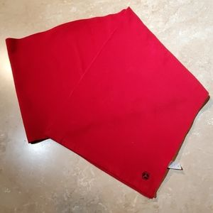 Old Navy Red Fleece Long Scarf